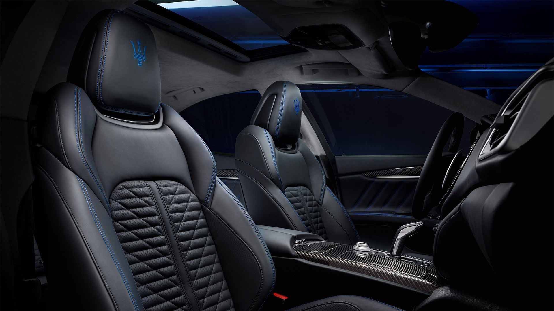 Maserati Ghibli - Grau - Interieur und Design