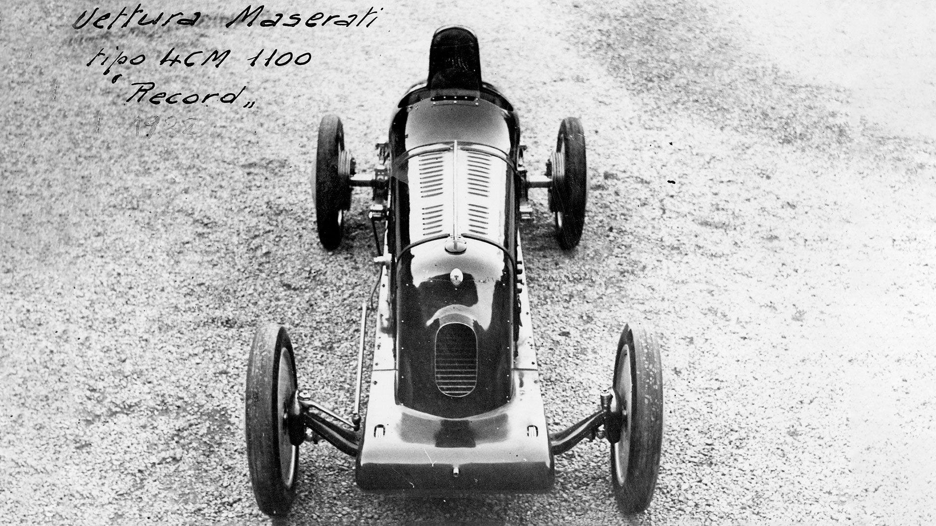 Maserati Ghibli Hybrid Inspiration aus 1934