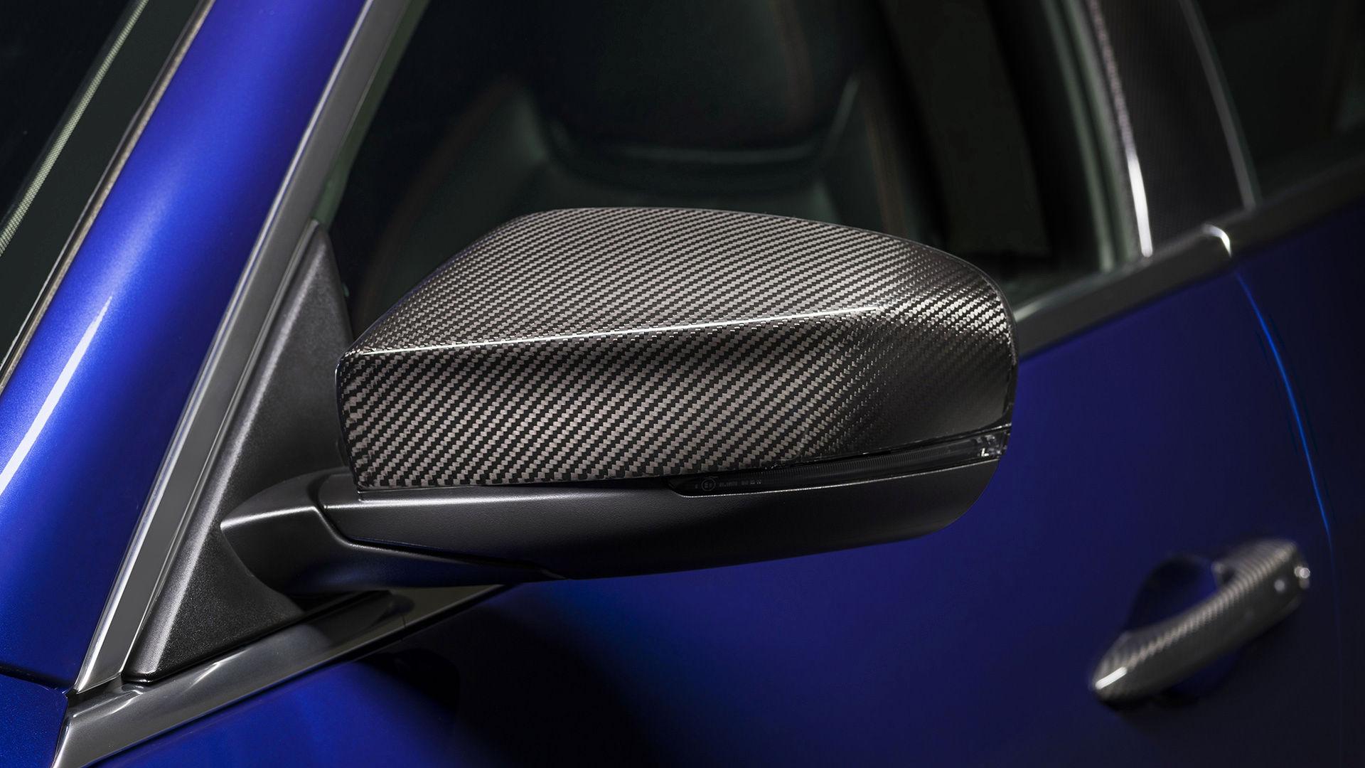 Maserati Ghibli - Exterieur - Blau - Seitenspiegel - Nerrissimo Carbon Spiegel
