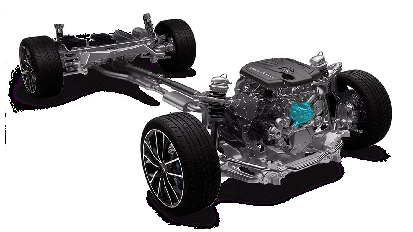 Maserati Ghibli Hybrid: eBooster für elektrischen Schub