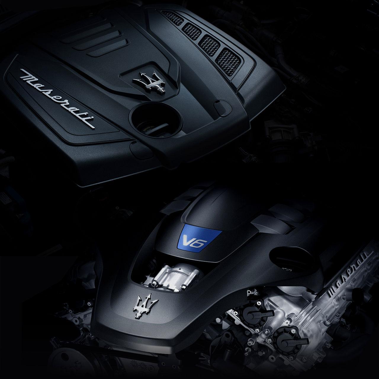 Maserati Ghibli - V6-Motor