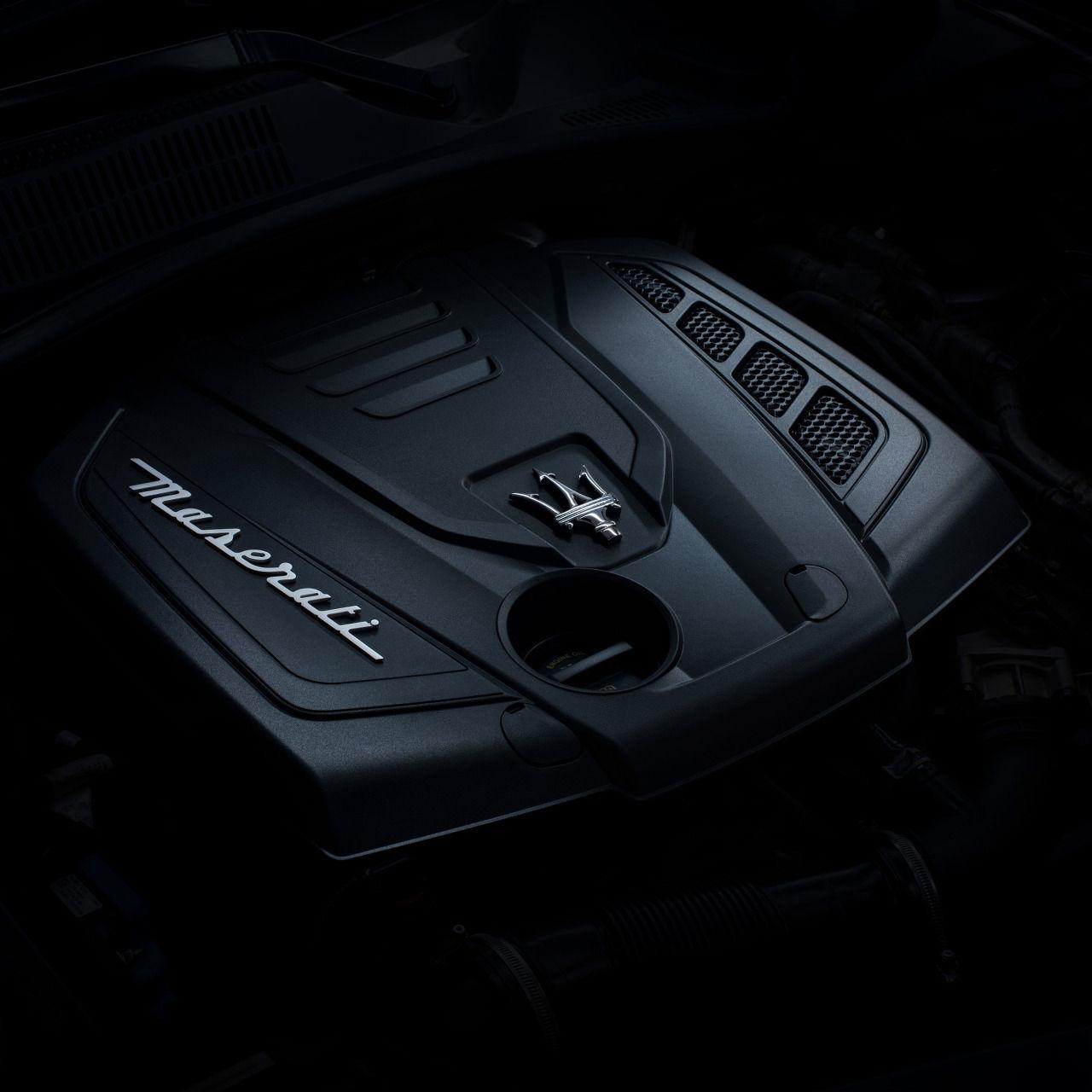 Maserati Hybrid Technology (MHEV) - 48V Engine Detail view