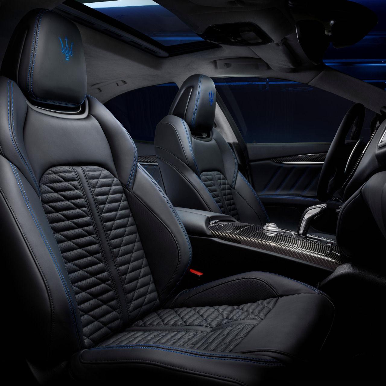 Maserati Ghibli - Design - Interieur - Vordersitze