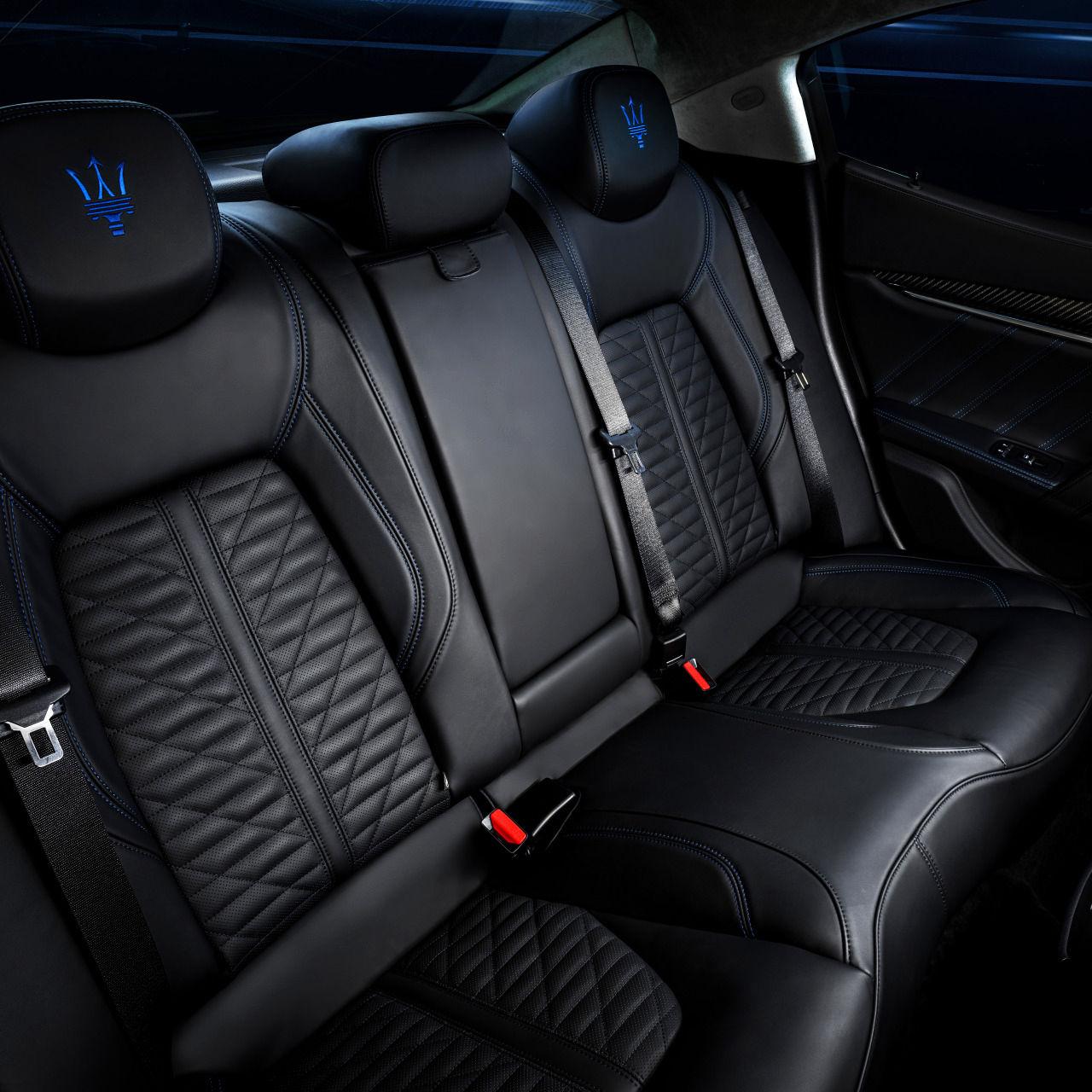 Maserati Ghibli - Design - Interieur - Rücksitzbank