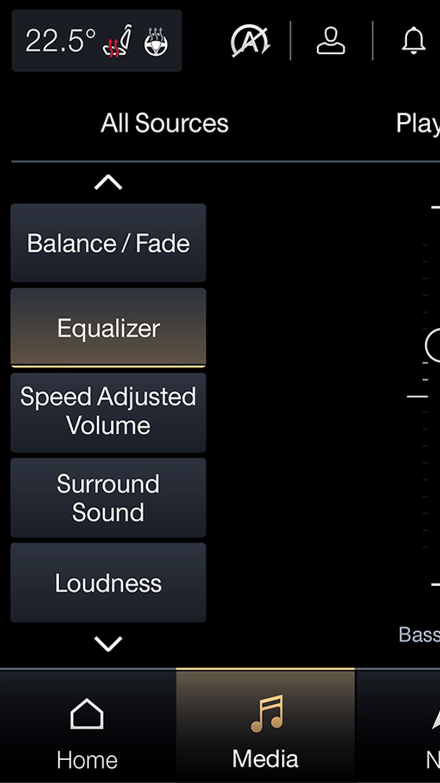 Maserati Soundsysteme - Media - Equalizer