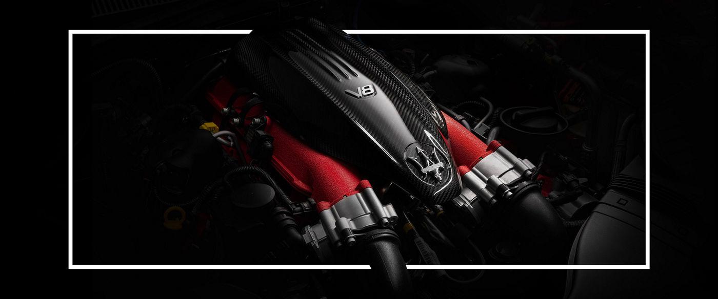 Maserati Ghibli Trofeo: V8-Motor