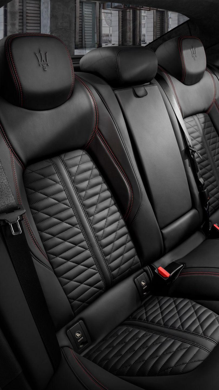 Maserati Ghibli - Rücksitze aus Leder - Schwarz
