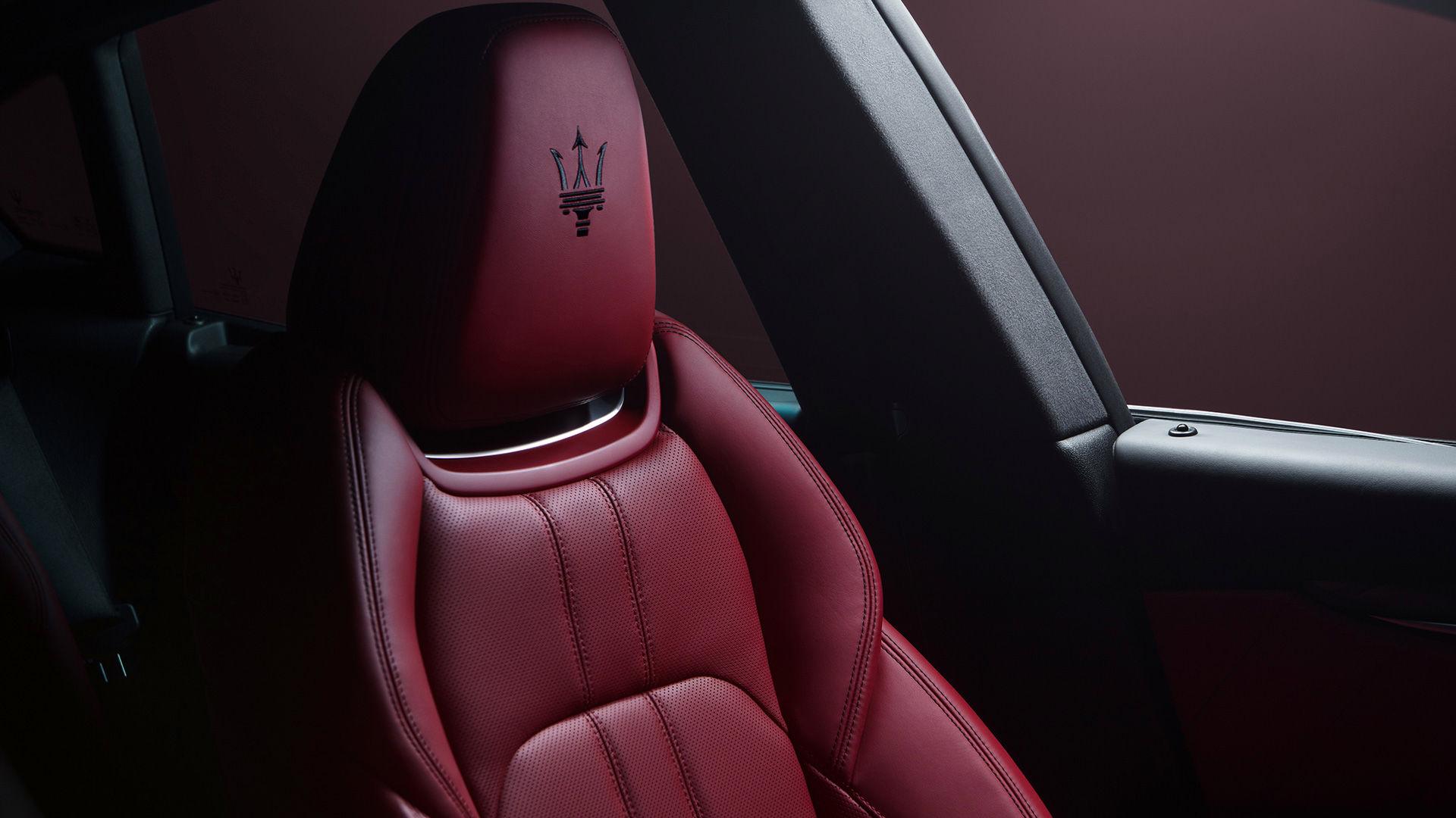 Maserati Levante - Roter Ledersitz