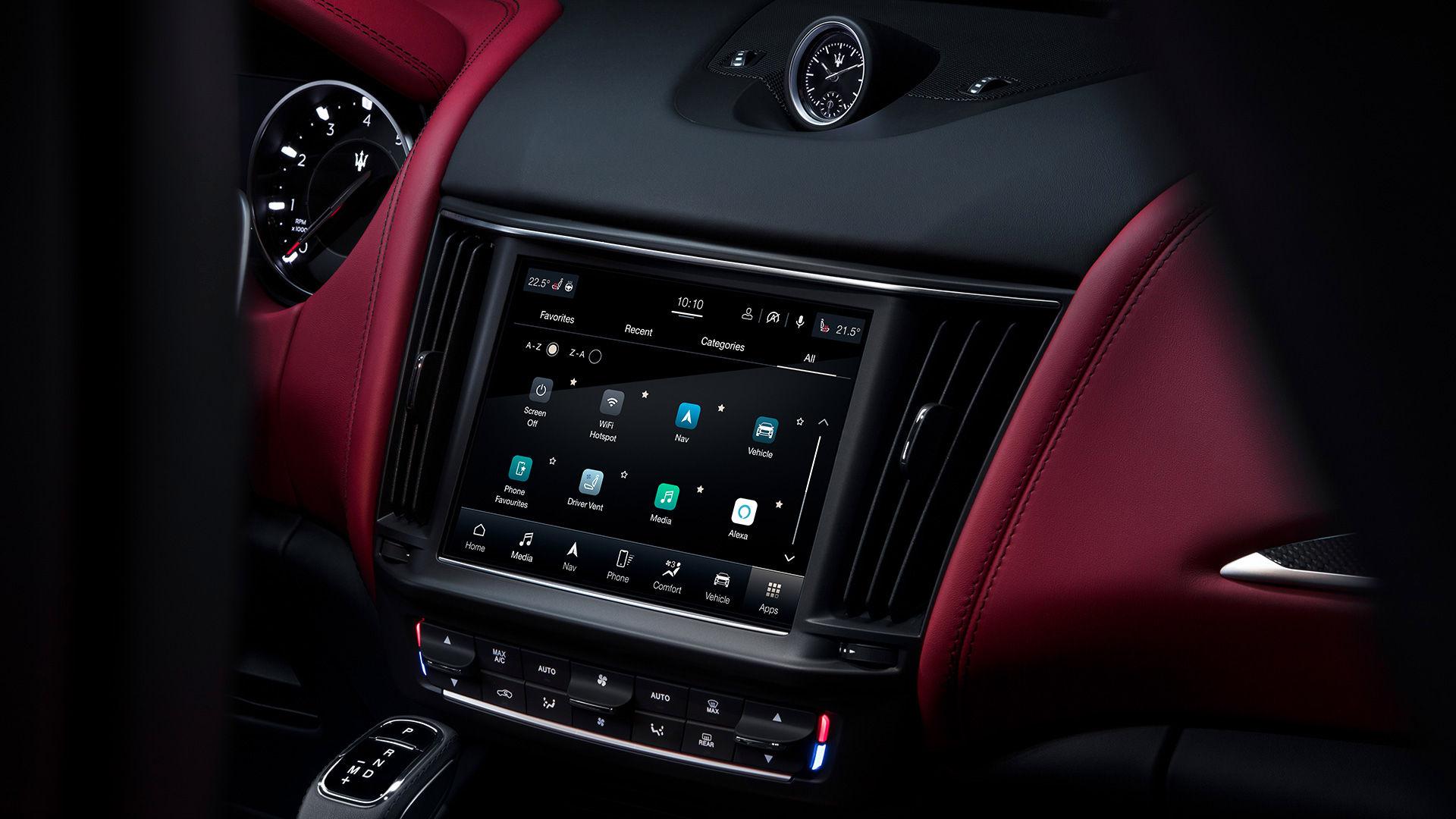 Maserati Levante - Interieur - Infotainment