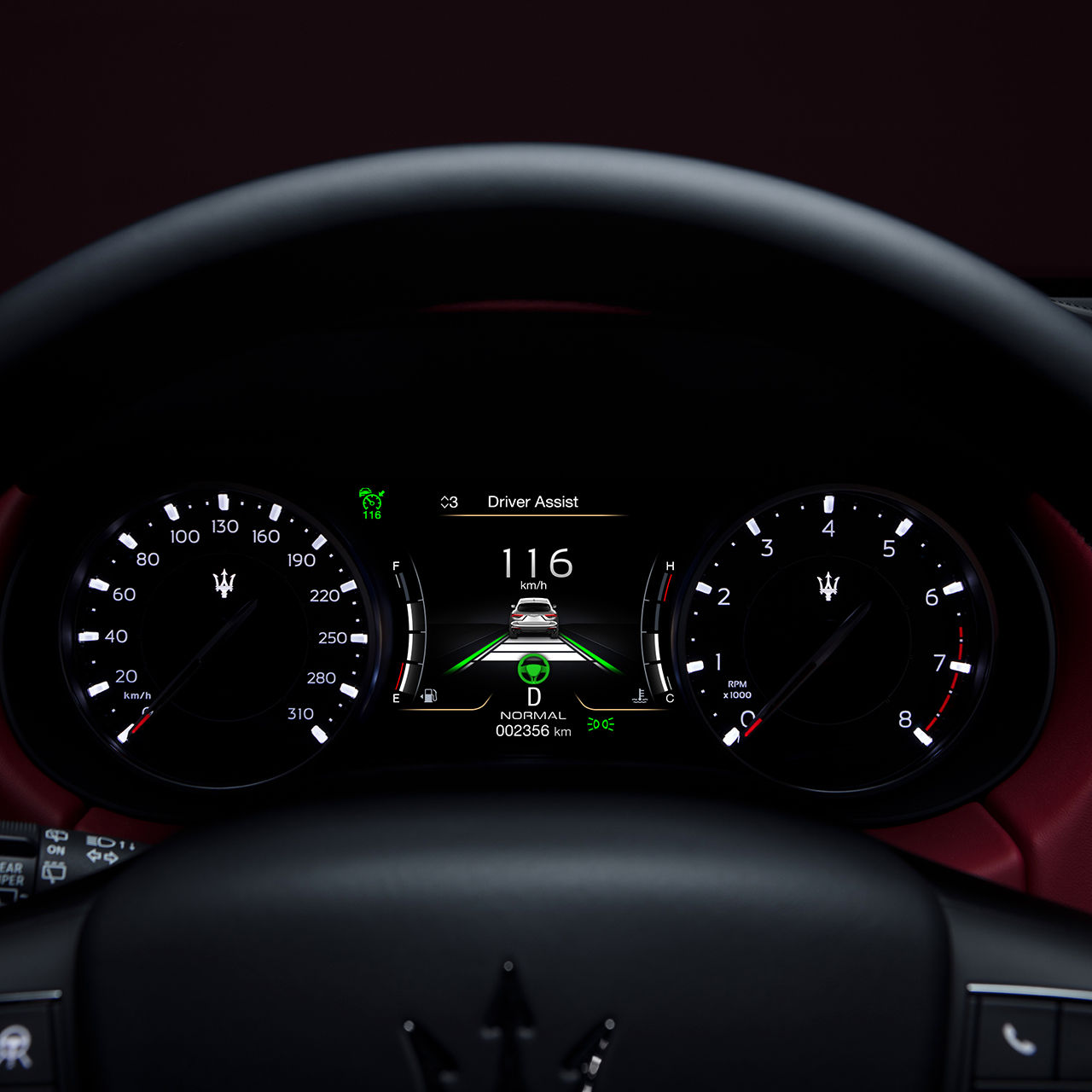 Maserati Fahrassistenzsystemen: Sicherheit und ADAS - Driver Assist