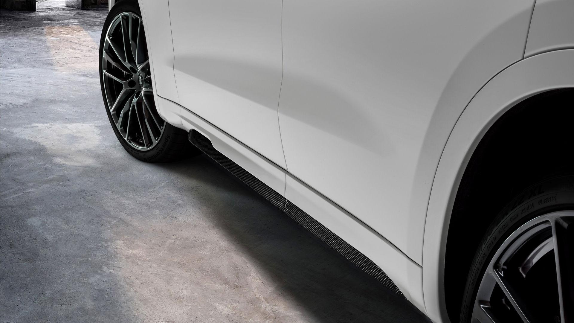 Maserati Levante Trofeo - Weiß - Nachaufnahme von der Seite