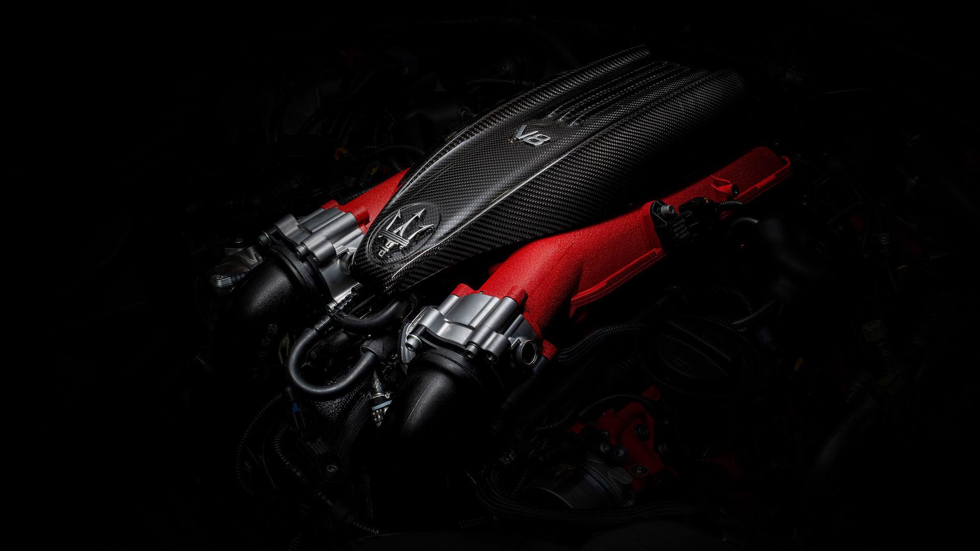 Maserati Levante Trofeo - V8-Motor