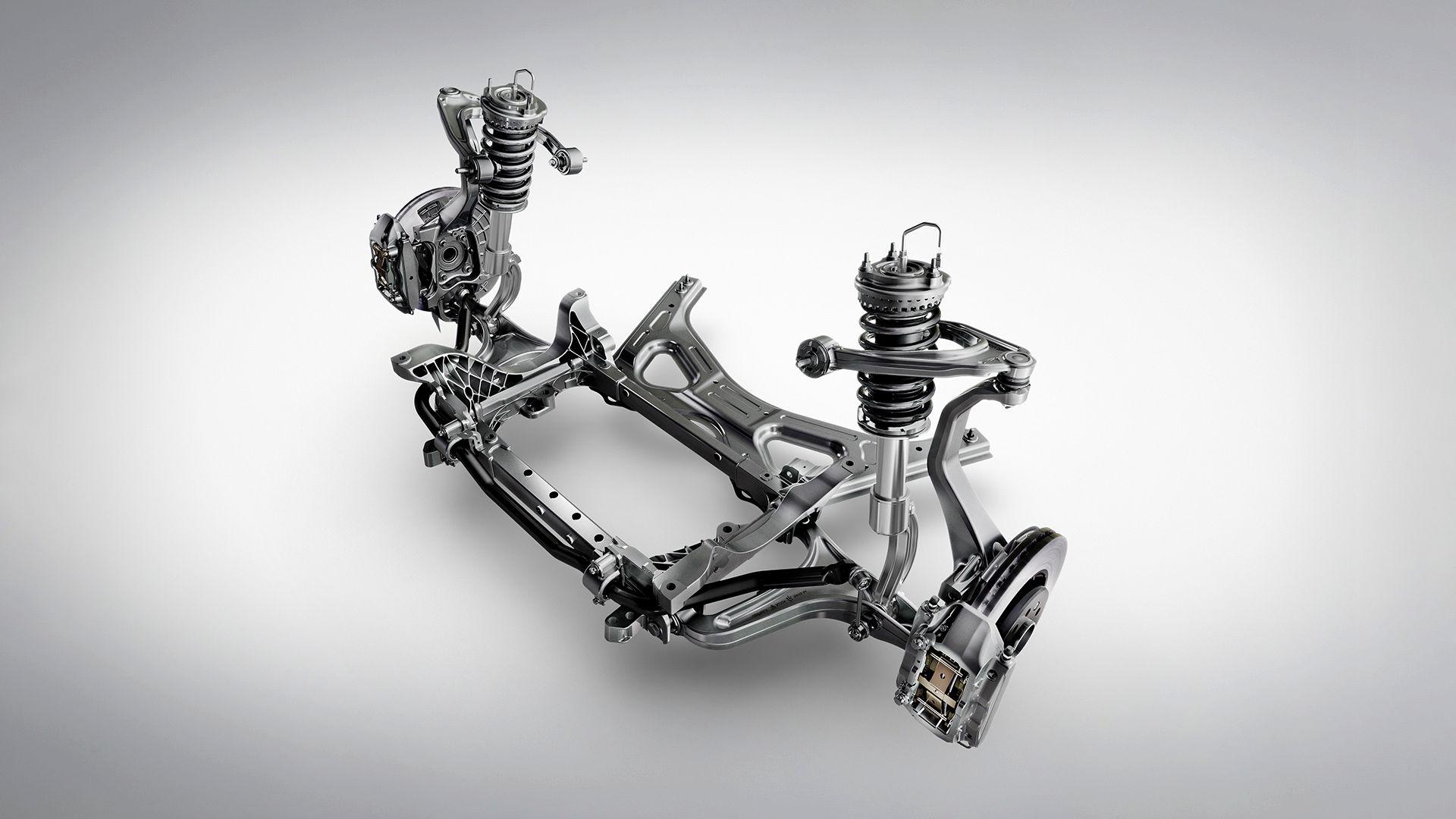 Maserati Levante Trofeo - Syhook Fahrwerk