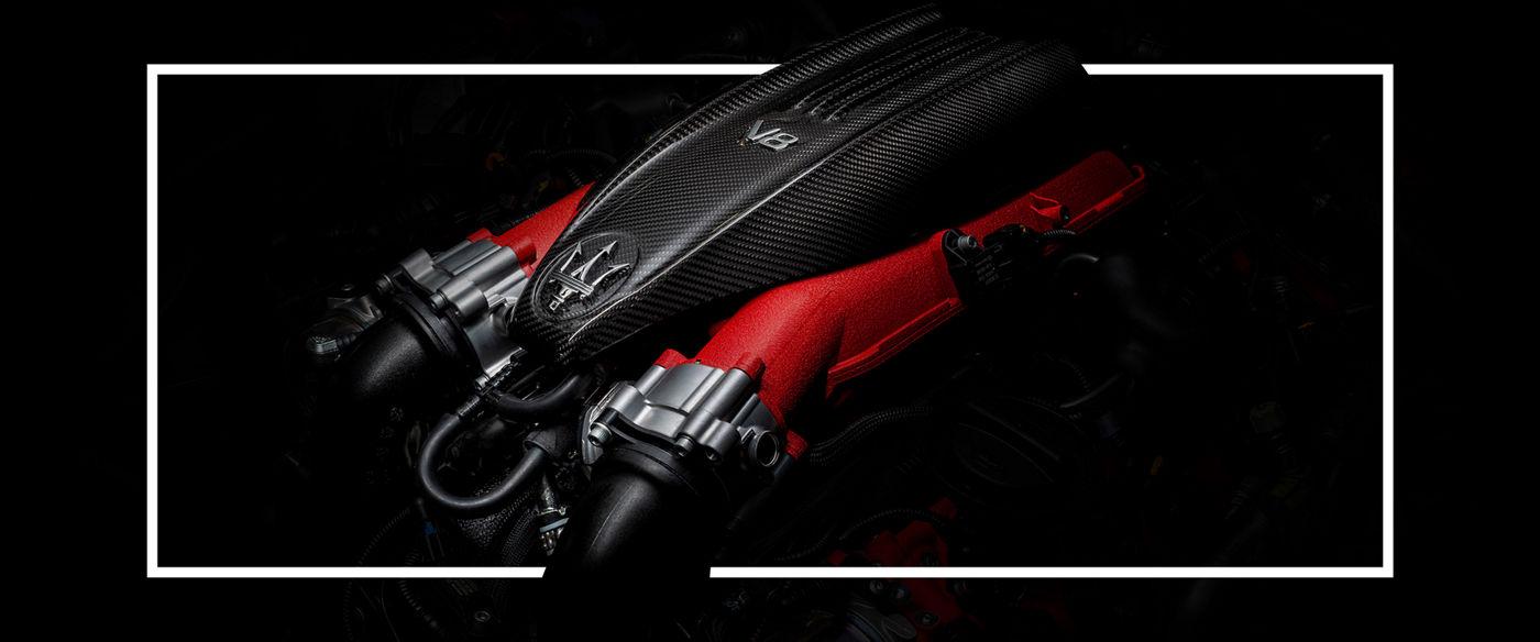 Maserati Levante Trofeo: V8-Motor