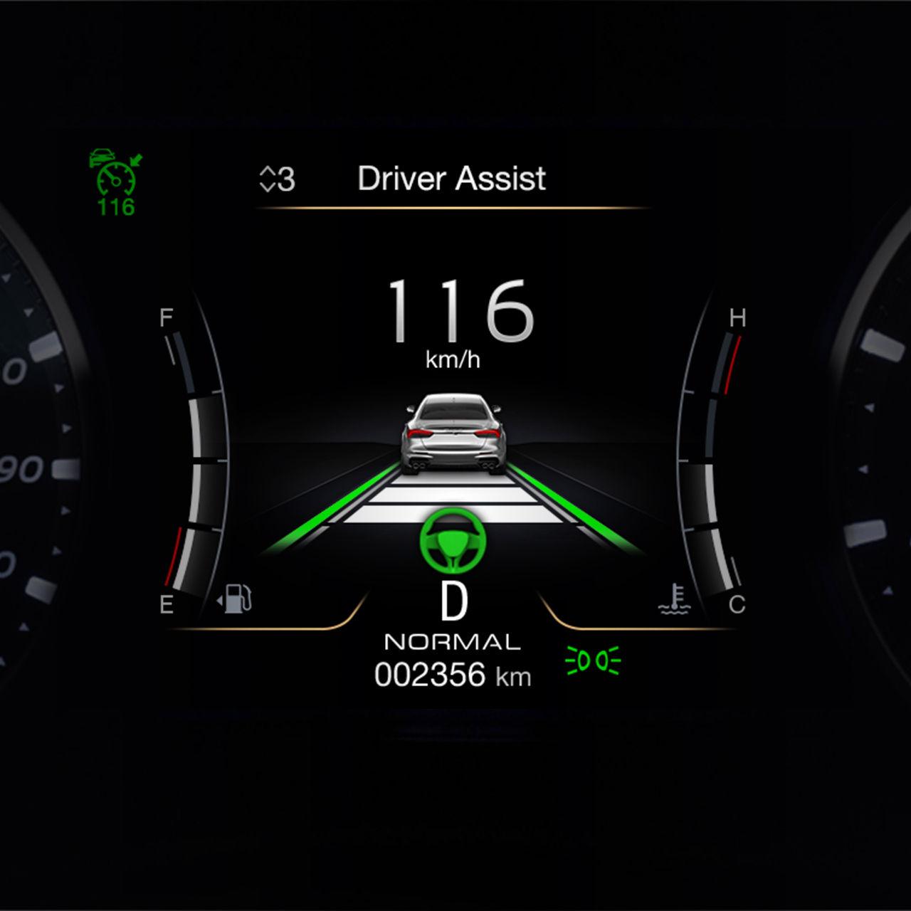 Maserati Levante Trofeo - ADAS Fahrassistent