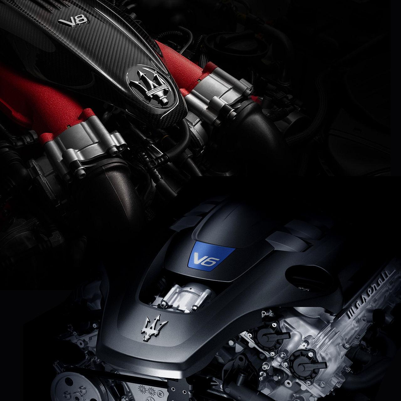 Maserati Levante Trofeo - V8- und V6-Motor