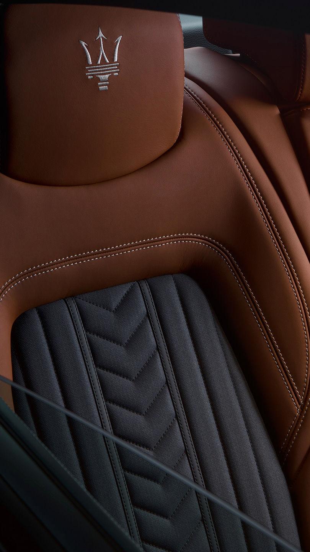 Maserati Quattroporte - Ledersitz
