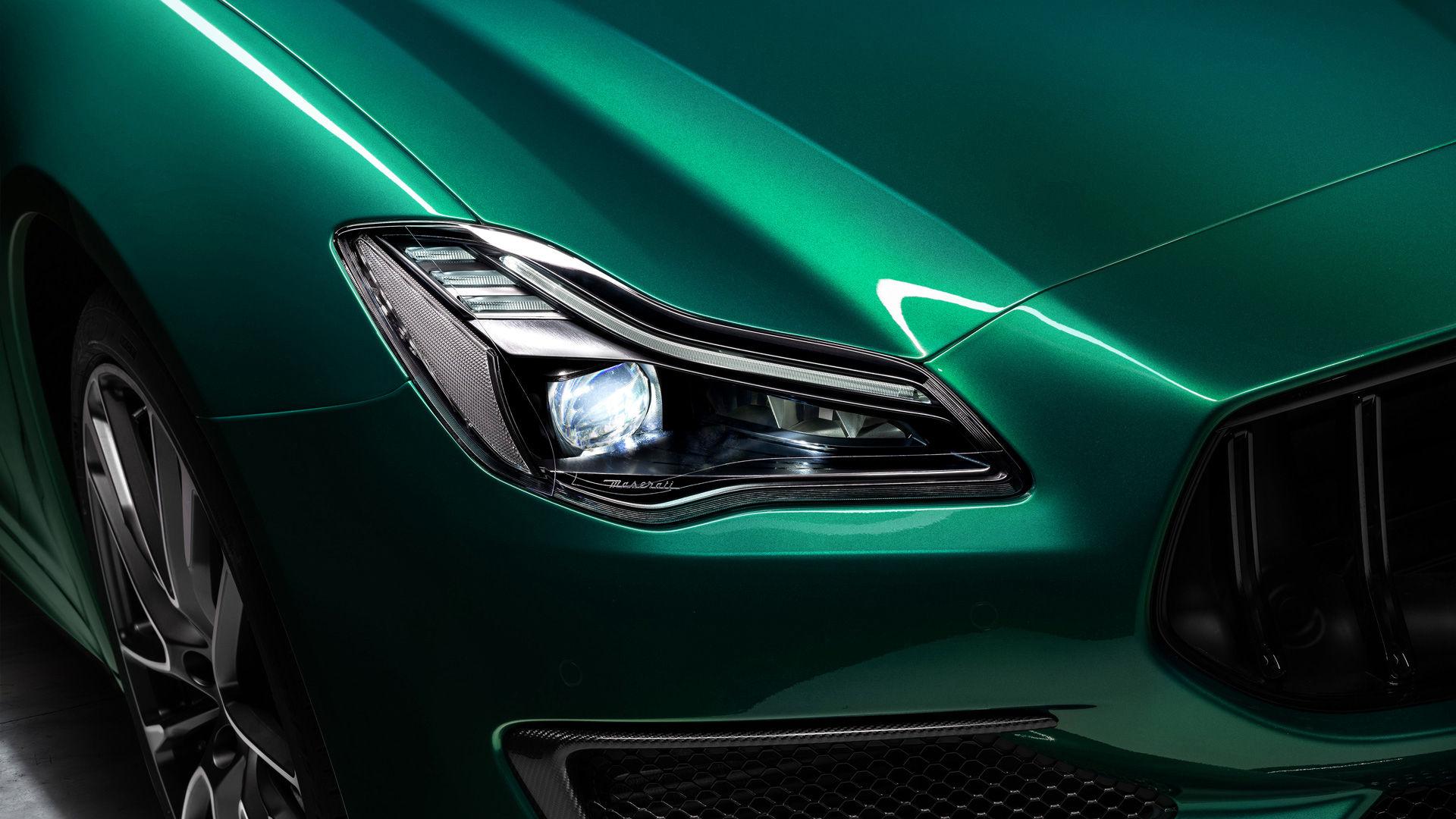 Maserati Quattroporte Trofeo - Grün - Adaptive Voll LED Scheinwerfer