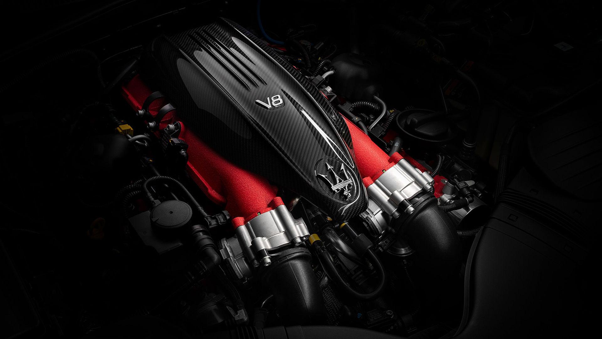 Maserati Trofeo Motor - V8-Motor