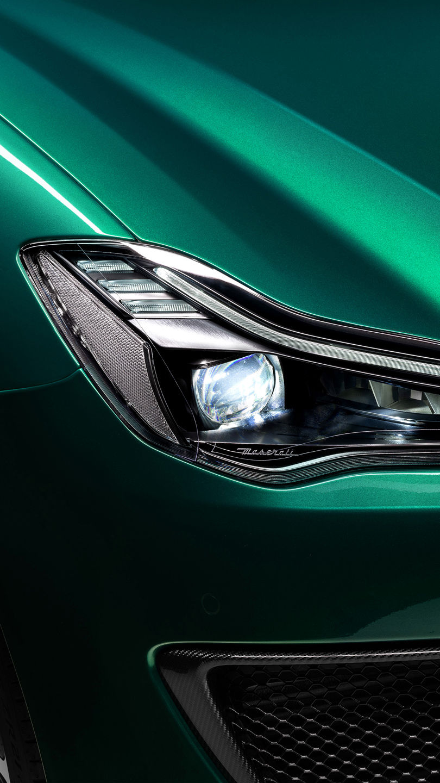 Maserati Quattroporte Trofeo - Grün - Voll LED Matrix Scheinwerfer
