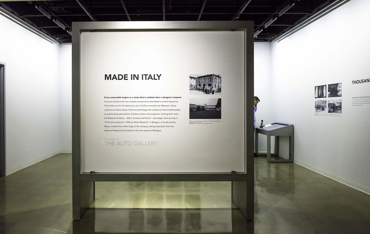 Maserati - Made in Italy - The Auto Gallery - Petersen Automotive Museum