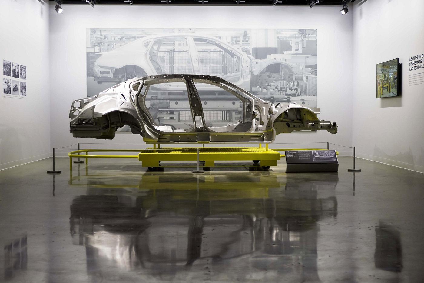 Maserati - châssis - Petersen Automotive Museum