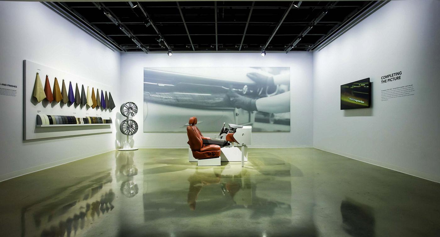 Maserati - Design sellerie siège Rosso - Petersen Automotive Museum