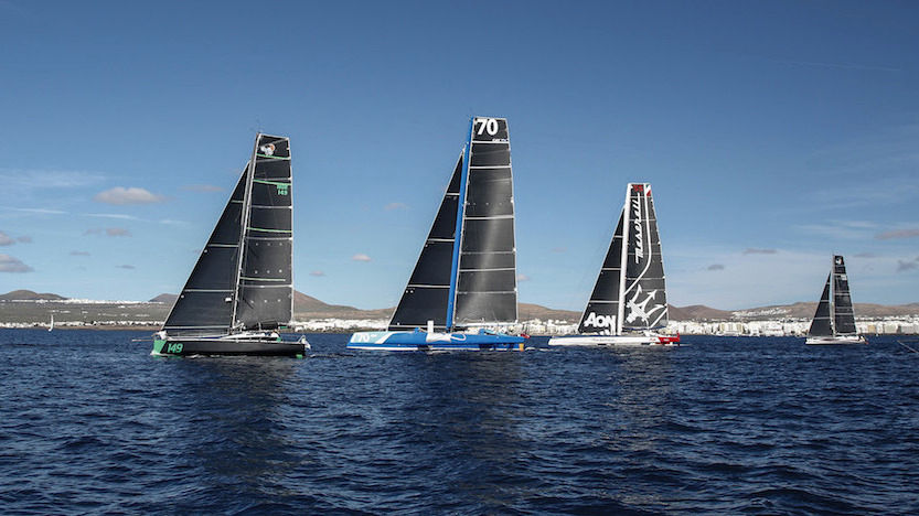 The 2018 RORC begins: challenging multihulls