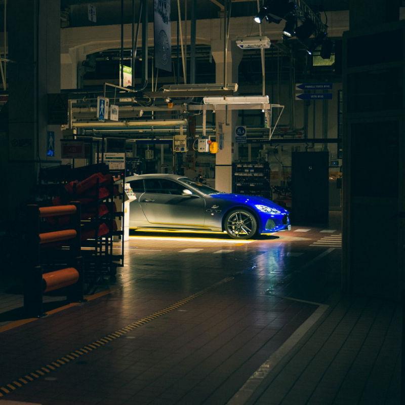 Eine Nacht im Maserati Werk Modena - 2