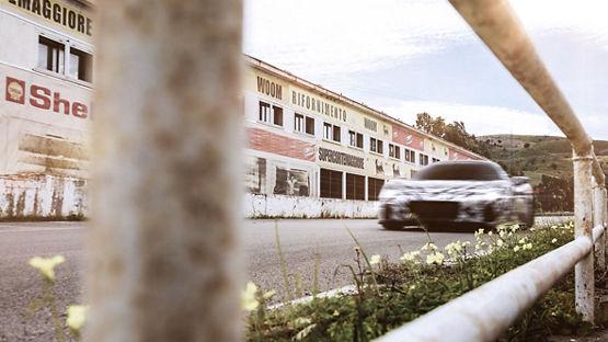 Maserati MC20 Erprobung auf den Straßen der Targa Florio