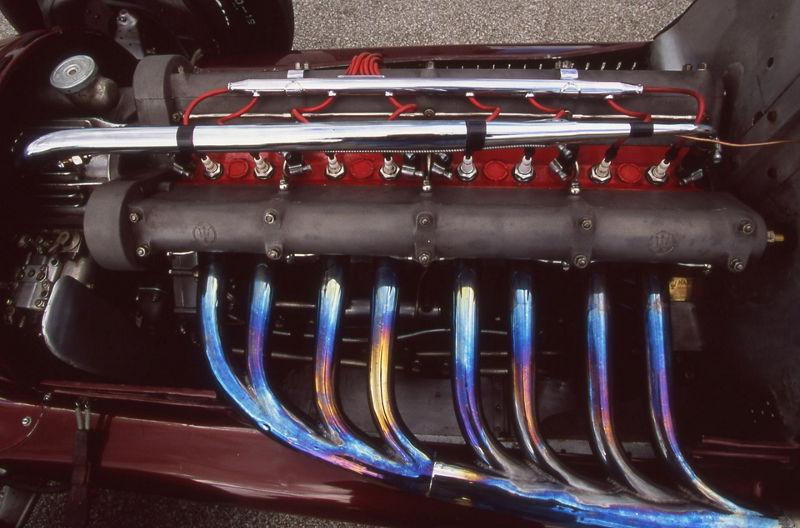 Maserati 8CTF Boyle Special - Detailansicht