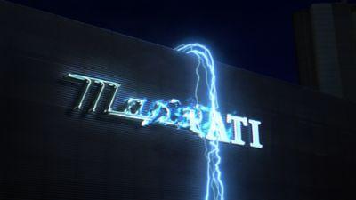 Maserati Logo - Le dévoilement de la Ghibli Hybride