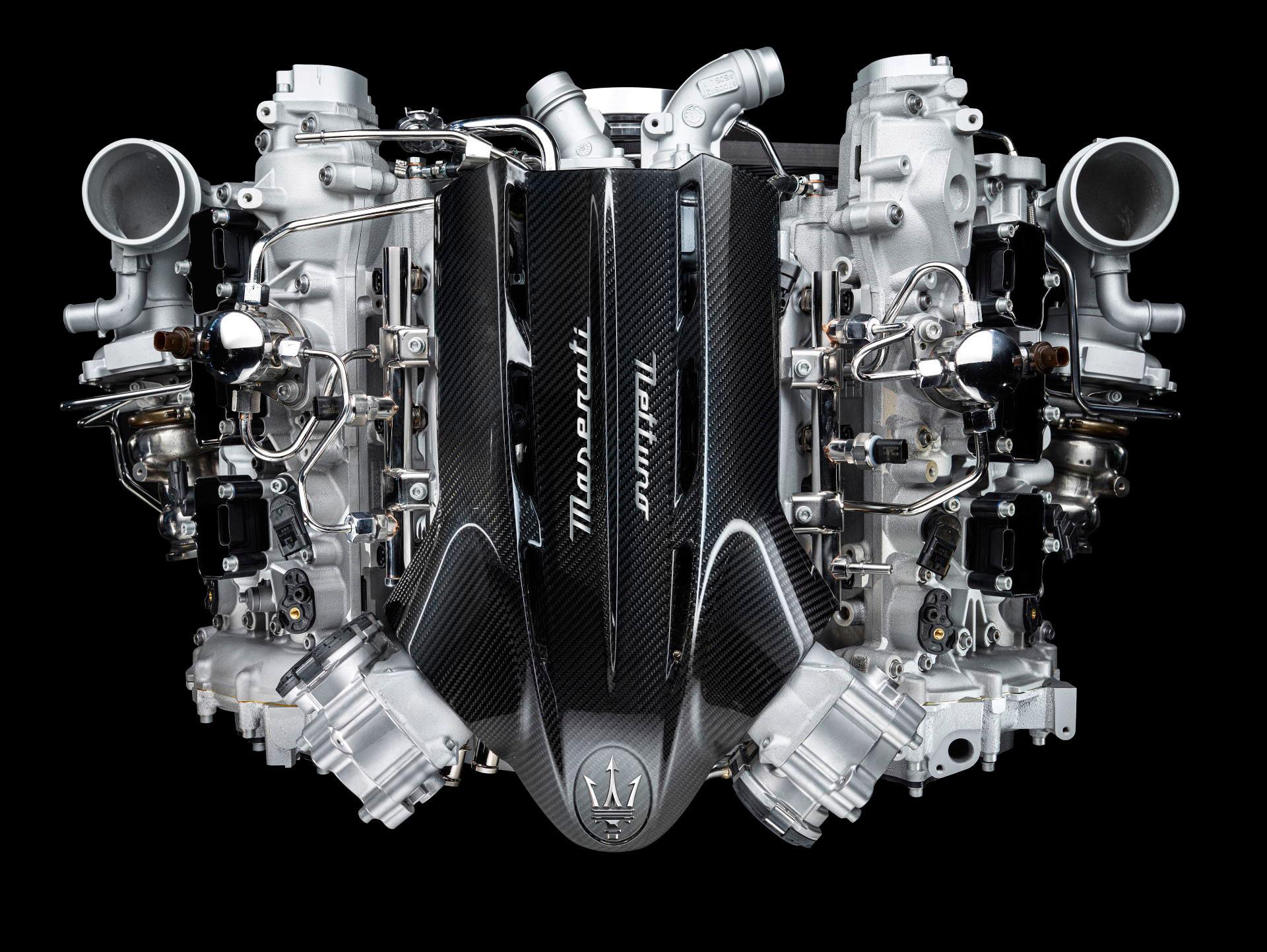 Maserati MC20 Launch: Nettuno Engine