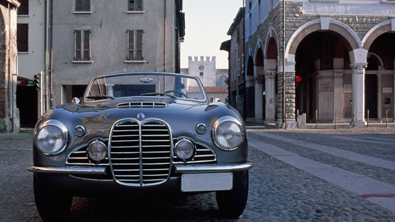 Classic Cars: Maserati A6G 2000 - Front view