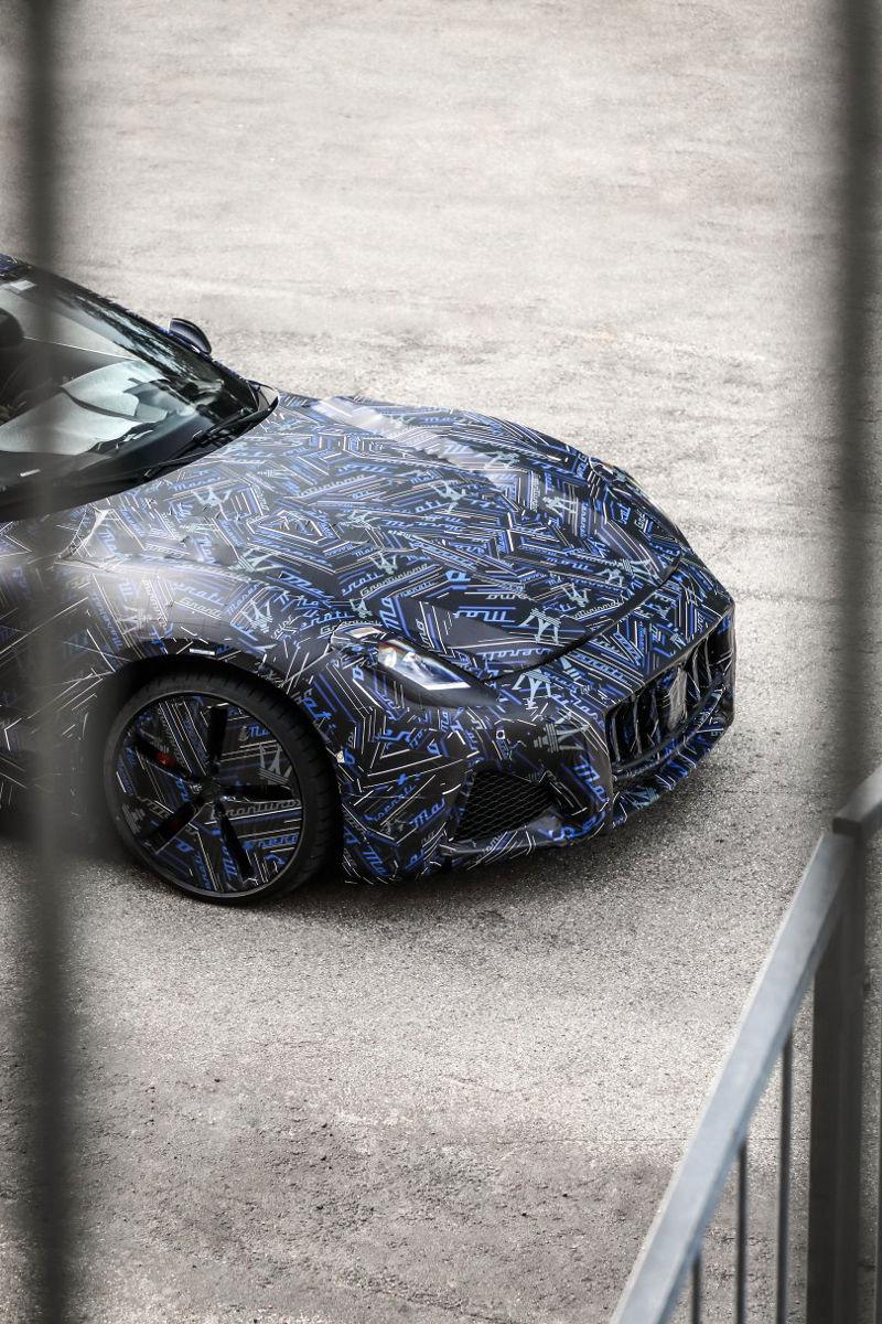 Nouvelle Maserati GranTurismo, 100% électrique : premier prototype.