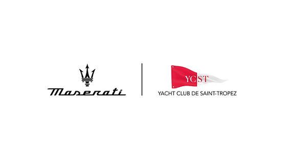 Partnerschaft zwischen Maserati und dem Yacht Club von Saint-Tropez