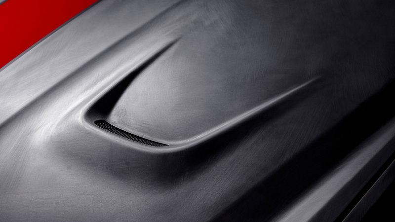 Maserati Fuoriserie Corse Levante: Detailansicht von Lufteinlass
