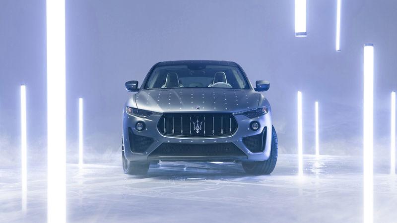 Maserati Fuoriserie Futura Levante: SUV in Biolime und Graphitblau