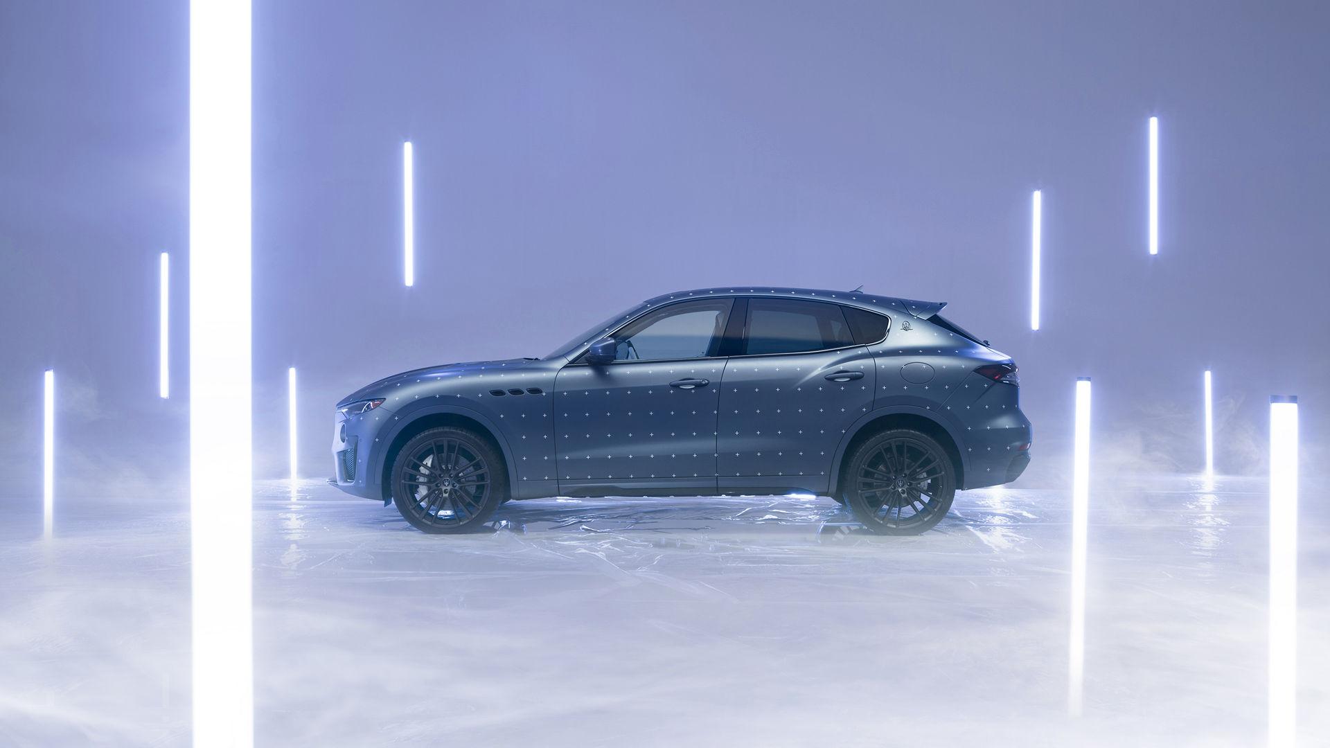 Maserati Fuoriserie Futura Levante: Seitenansicht des SUVs