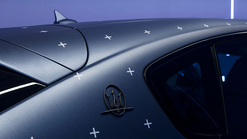 Maserati Fuoriserie Futura Levante: Exterieur, Detailansicht
