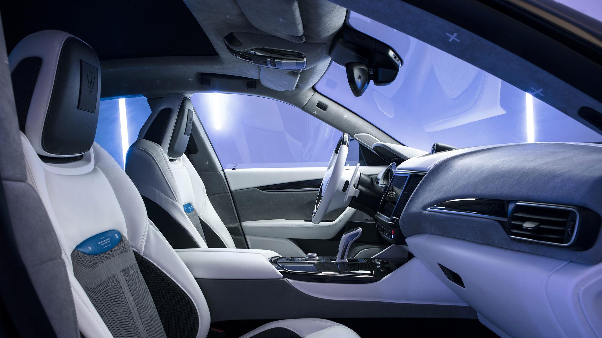 Maserati Fuoriserie Futura Levante: Interieur