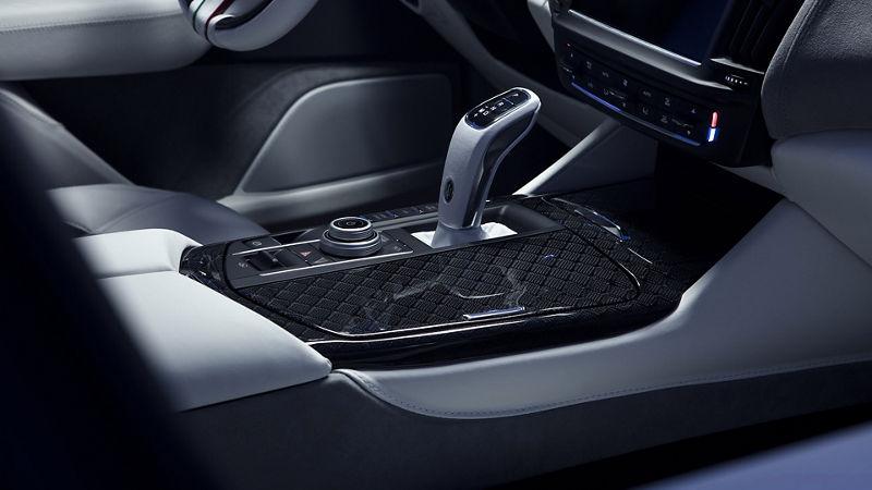 Maserati Fuoriserie Futura Levante: Schaltung