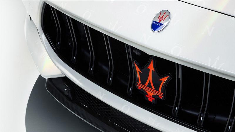 Maserati Fuoriserie Unica: Kühlergrill mit Dreizack-Symbol