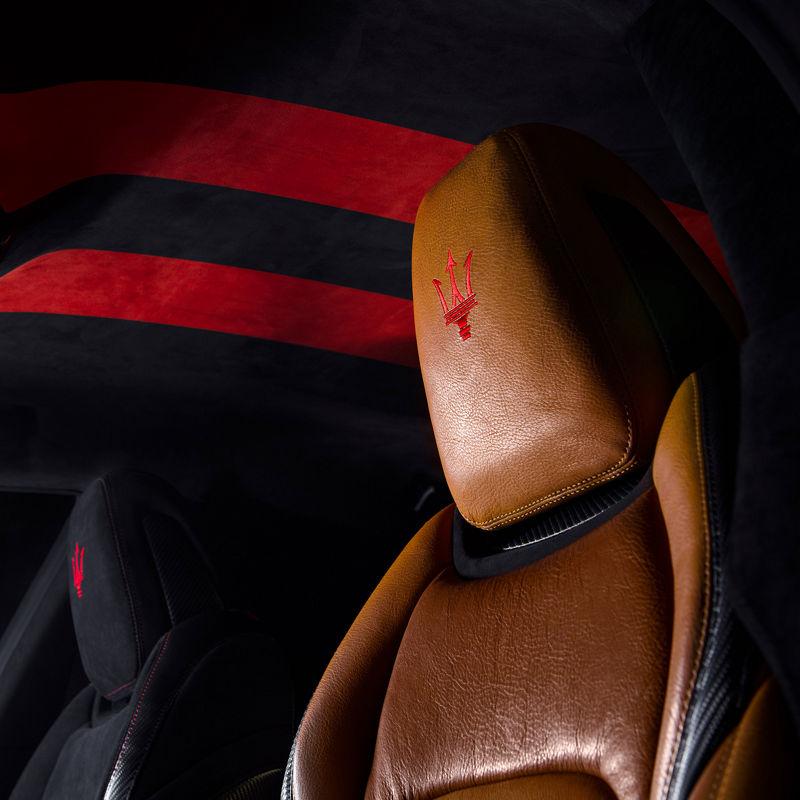 Maserati Fuoriserie Corse Levante: Interieur und Ledersitze