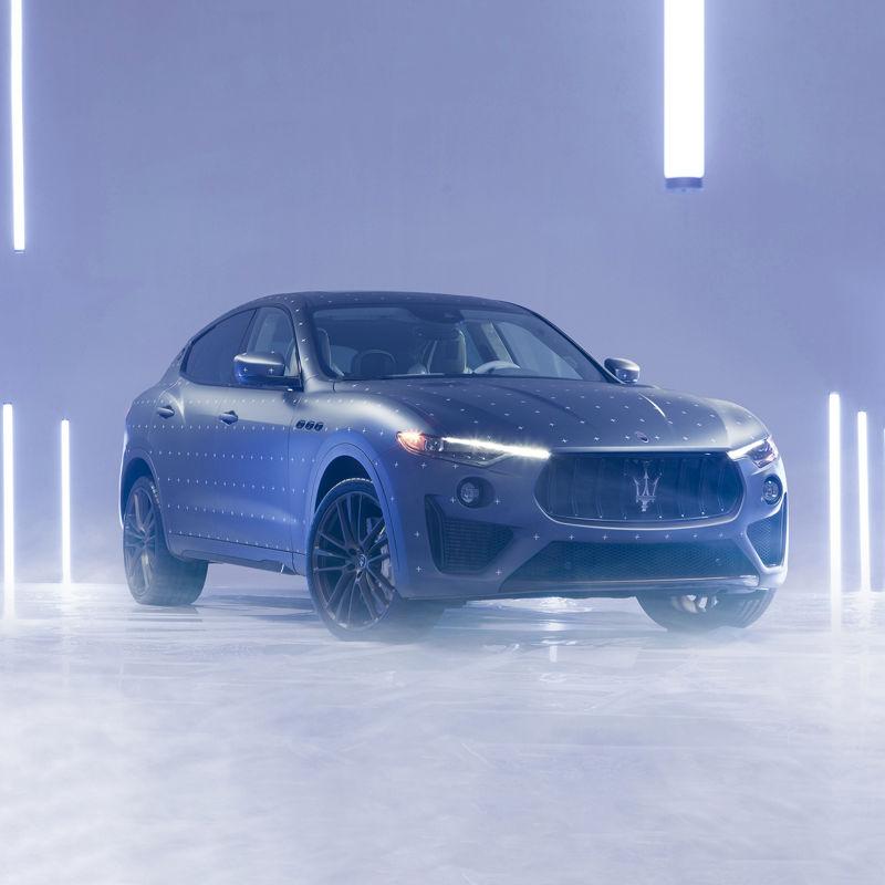 Maserati Fuoriserie Futura Levante: Frontansicht des SUVs