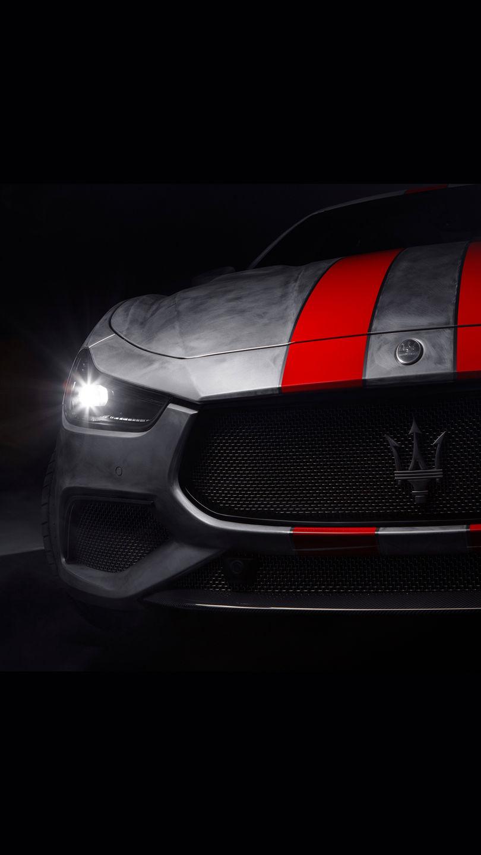 Maserati Fuoriserie Corse Levante: Nachaufnahme des Kühlergrills
