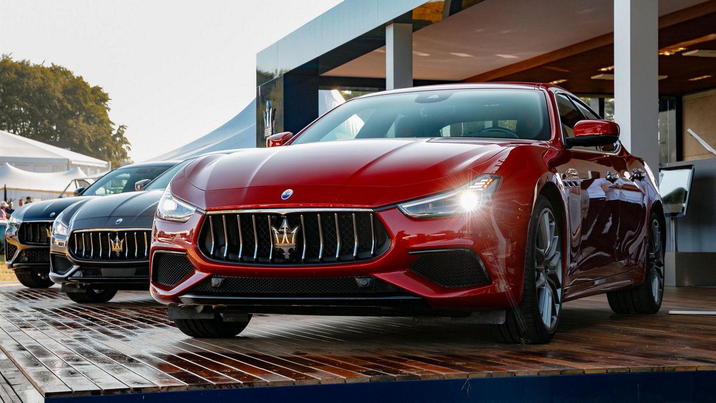 La gamma dei nuovi modelli Maserati 2019 presentati al Goodwood Festival of Speed