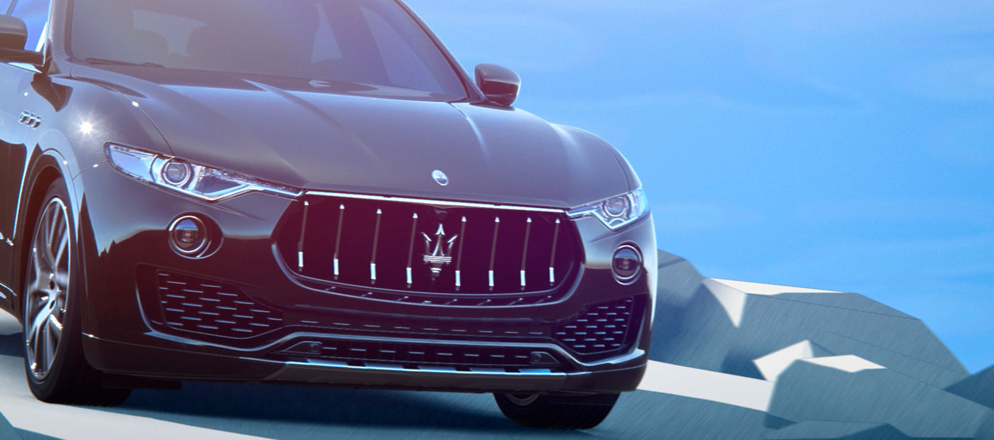 Hill Descent Control - Maserati Levante front view