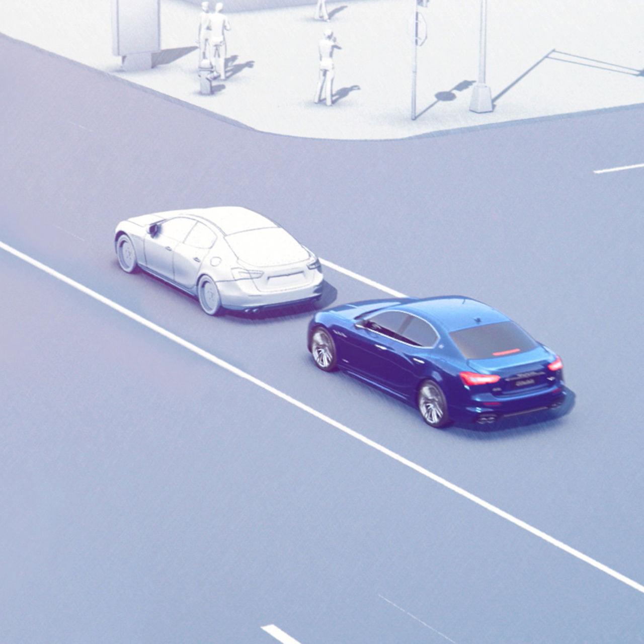 Maserati Forward Collision Warning Plus