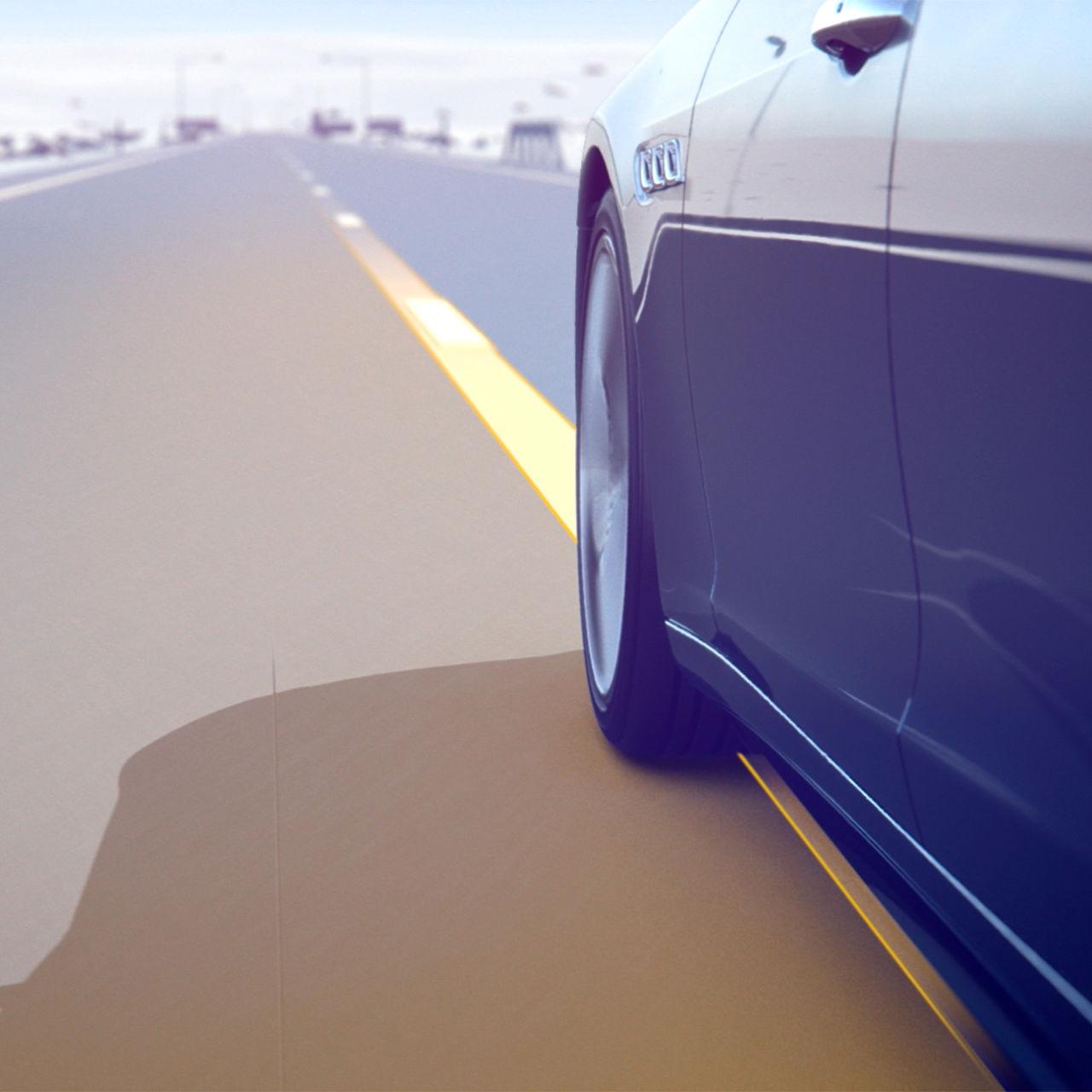 Maserati Lane Keeping Assist System